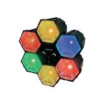 LED efekt, 71.206, 6kanálový, černá