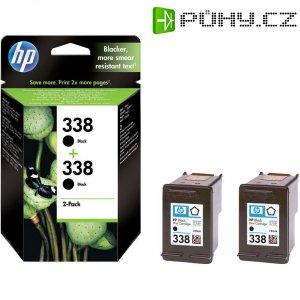 Cartridge do tiskárny HP CB331EE (338), černá, 2 ks