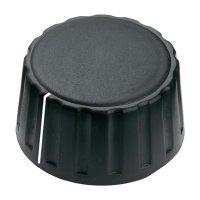 Otočný knoflík Mentor 4334.6001, 6 mm, matně černá
