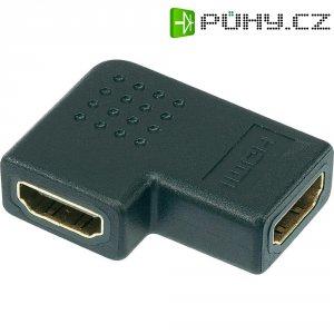 Spojka HDMI, tvar L, 90°