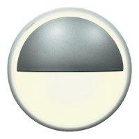Vestavné LED osvětlení Bolero OL7, 1,8 W, 12 V, teplá bílá, hliník