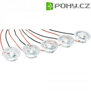 Vestavná LED svítidla čirá, 5x 1 W