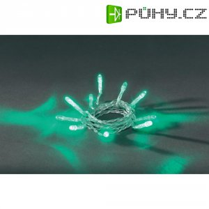 Vnitřní vánoční řetěz Konstsmide, 10 LED, zelená