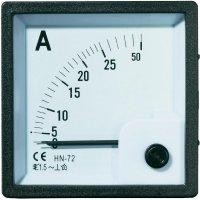 Analogové panelové měřidlo VOLTCRAFT AM-72X72/25A 25 A