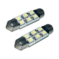 SMD LED sufitka Eufab, 13295, 1 W, S8.5, 41 mm, bílá, 2 ks