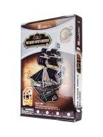 Hlavolam 3D Puzzle papírové Loď Černá perla