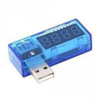 USB doktor, Voltmetr a Ampérmetr 3-7,5VDC, 0-3ADC