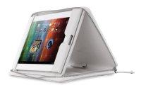 """Pouzdro na tablet 9.7""""-10.1"""" Prestigio, univerzální, se stojánkem, se zipem - bílé"""