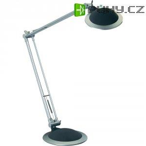 Stolní lampa halogenová, černá