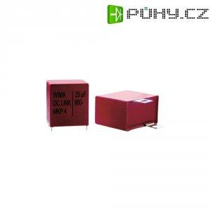 Foliový kondenzátor MKP Wima DCP4R251007HD4KYSD, 10 µF, 1300 V, 10 %, 41,5 x 24 x 45,5 mm