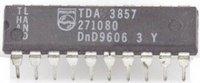 TDA3857 - kvaziparalelní zvuk a FM demodulátor, DIP20
