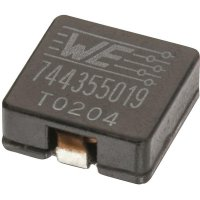 SMD vysokoproudá cívka Würth Elektronik HCI 7443550600, 6 µH, 9,5 A, 1350