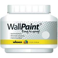 Barva na zeď Wagner bílá, 1,5 l