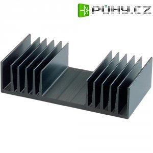 Chladič Fischer Elektronik, 97 x 25 x 75 mm, SK 72 75 SK, 1,8 kW