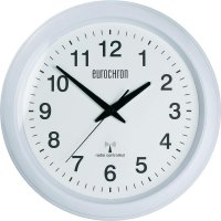 Analogové DCF nástěnné hodiny Eurochron EFWU 4603, Ø 325 x 45 mm, bílá/bílá