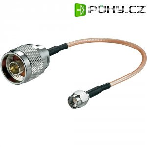 Anténní kabel s adaptérem pro WiFi, Router, N-zástrčka/RP-SMA-zástrčka