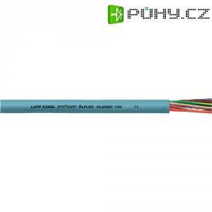Datový kabel LappKabel Ölflex Classic 100 (0010026), 7 x 0,75 mm², 1 m, šedá