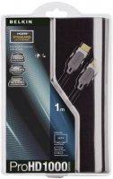 HDMI Belkin kabel ProHD1000 s ethernetem, pozlacené kontakty, 1 m, černý