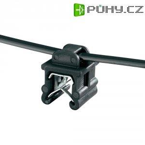 Stahovací psáky HellermannTyton T50ROS-EC20, 200 x 4,6 mm, černá