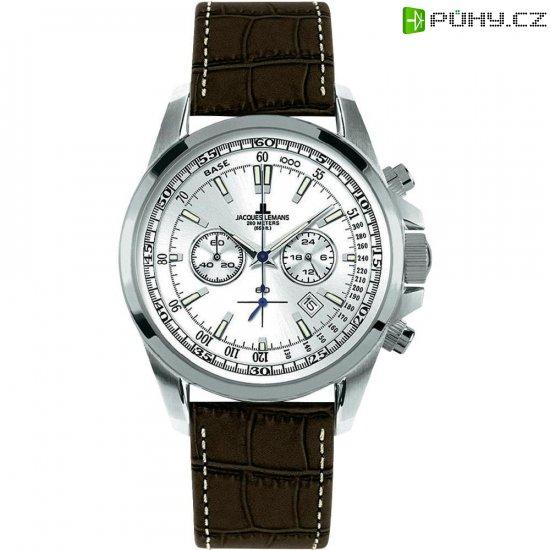 Ručičkové náramkové hodinky Jacques Lemans Liverpool 1-1117BN - Kliknutím na obrázek zavřete