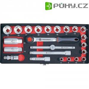 Sada ráčnových klíčů Toolcraft, 10 mm, 23 ks