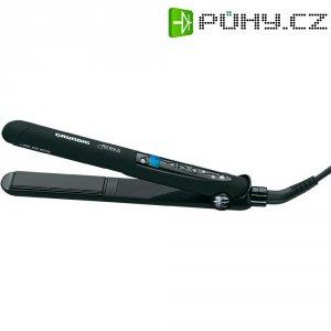 Žehlička na vlasy Grundig HS2730, Swarovski, černá