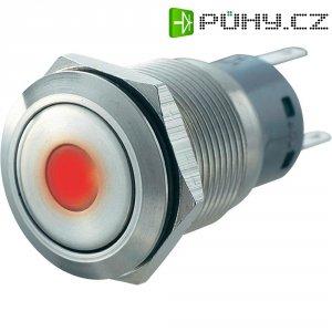 Tlačítko zajištěné proti vanda 19 mm s bodovým osvětlením
