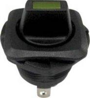 Kolébkový spínač s aretací SCI R13-135LP-02, 250 V/AC, 10 A