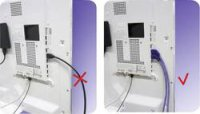 HDMI kabel s eth., vidlice ⇒ vidlice, konektrory 90°, 3 m, stříbrný, Inakustik