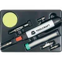 Sada plynové páječky Toolcraft PT237, 1300 °C