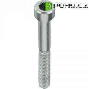 Cylindrické šrouby s vnitřním šestihranem TOOLCRAFT, A2, DIN 912, M4 x 12, 100 ks