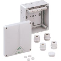 Propojovací krabice Spelsberg Abox 100 - 10², IP65, šedá, 81041001