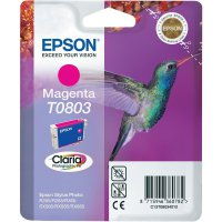 Cartridge Epson T0803, C13T08034011, magenta