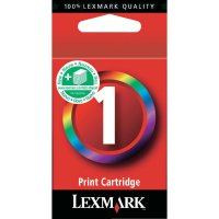 Cartridge Lexmark, 18CX781E, žlutá/cyanová/magenta