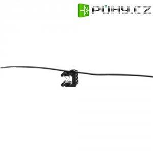 Stahovací psáky HellermannTyton T50ROSEC21, 200 x 4,6 mm, černá