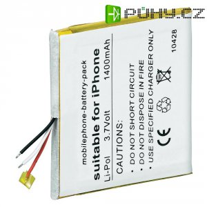 Náhradní Li-Pol akumulátor pro iPhone (4 GB, 8 GB)