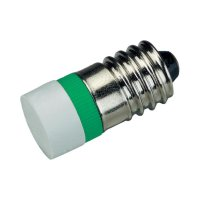 LED žárovka E10 Signal Construct, MWCE22749, 24 V, ultra zelená