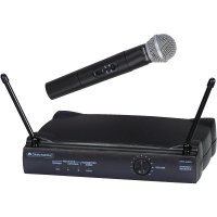 Bezdrátový mikrofon Omnitronic VHF-250, 179 Mhz