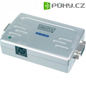 VGA extender Digitus DS-53900-1, zesilovač VGA videosignálu až 65 m
