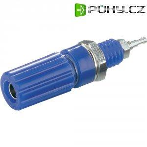 Pólová svorka SCI, (Ø x d) 6,5 x 11,5 mm, modrá