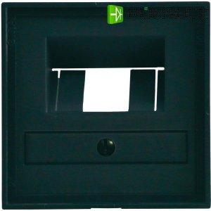 Krytka UAE/IAE/ISDN zásuvky, standard 55, antracit (027028)