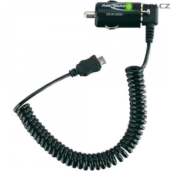 MicroUSB nabíječka do auta Ansmann USB Car Charger - Kliknutím na obrázek zavřete