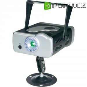 Laserový efekt Mc Crypt GLP-08, 100-240 V/50/60 Hz, červená/zelená