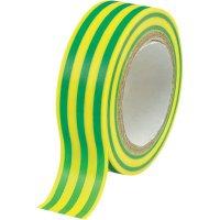 Izolační páska, 19 mm x 25 m, zelená