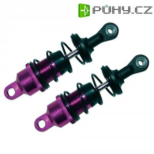 Olejový tlumič Reely, 66,9 mm, fialová/černá, 1:10, 2 ks (V2138PBA)