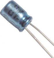 47u/6,3V 85° 5x7x2mm ISKRA, elektrolyt.kondenzátor radiální