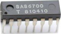 SAS6700 - obvod pro předvolbu do přijímačů AM/FM, DIL16