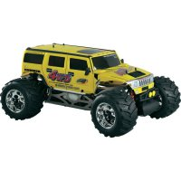 RC model benzínový Monstetruck FG Hummer WB535, 1:6, 4WD, RtR 2.4 GHz