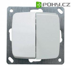 Vypínač Monte 102034, 10 A, 230 V/AC, bílá