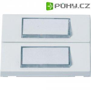 Zvonkové tlačítko se štítkem Heidemann, 70054, max. 24 V/1 A, bílá, 2 ks